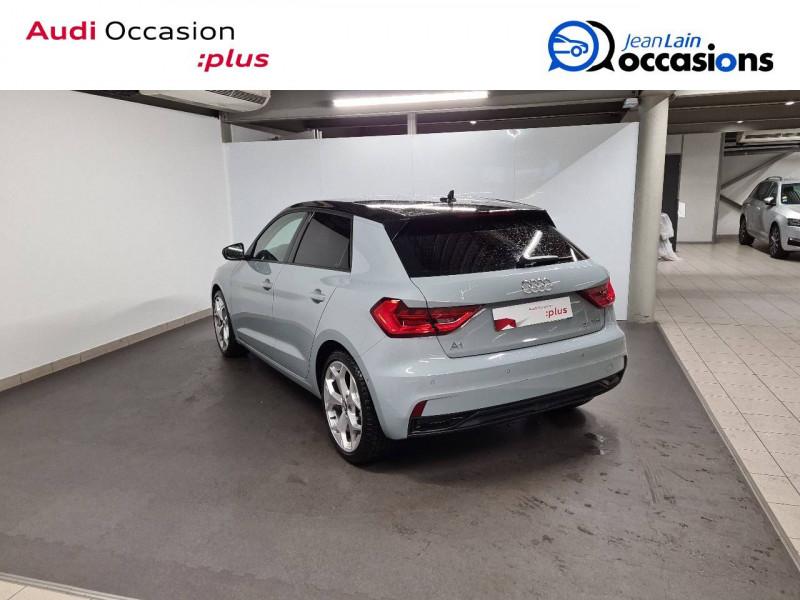 Audi A1 Sportback A1 Sportback 35 TFSI 150 ch S tronic 7 Design Luxe 5p Gris occasion à Annemasse - photo n°7