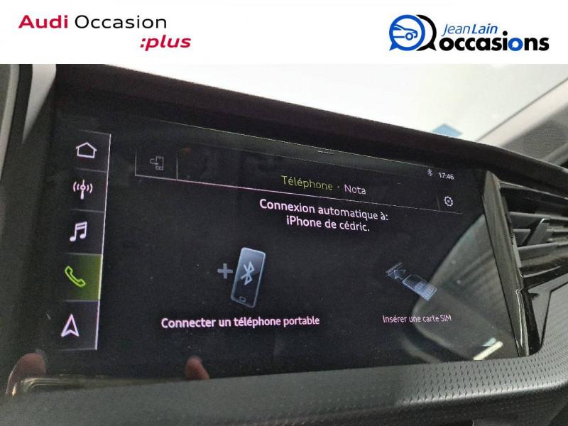 Audi A1 Sportback A1 Sportback 35 TFSI 150 ch S tronic 7 Design Luxe 5p Gris occasion à La Motte-Servolex - photo n°15