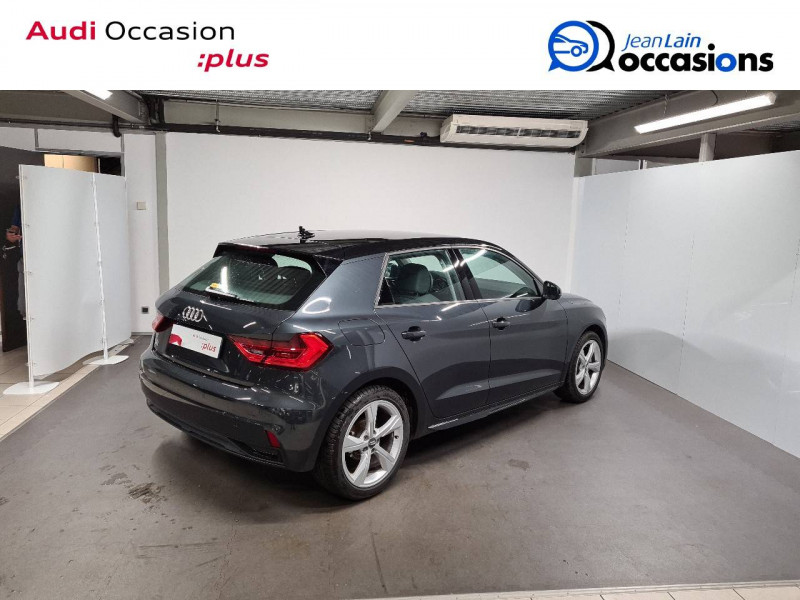 Audi A1 Sportback A1 Sportback 35 TFSI 150 ch S tronic 7 Design Luxe 5p Gris occasion à La Motte-Servolex - photo n°5
