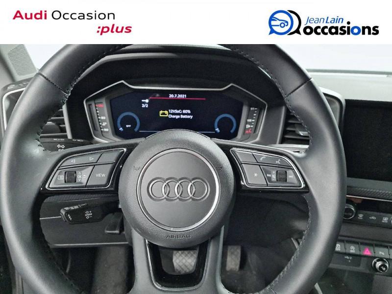 Audi A1 Sportback A1 Sportback 35 TFSI 150 ch S tronic 7 Design Luxe 5p Gris occasion à La Motte-Servolex - photo n°12