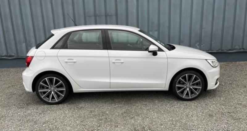 Audi A1 Sportback Ambition Luxe Blanc occasion à Saint Priest En Jarez - photo n°4