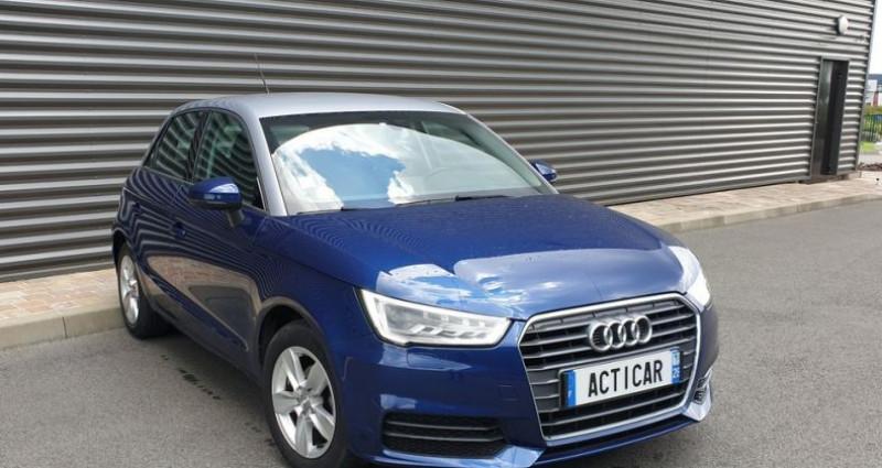 Audi A1 Sportback business tdi 90 s tronic ii Bleu occasion à FONTENAY SUR EURE - photo n°2