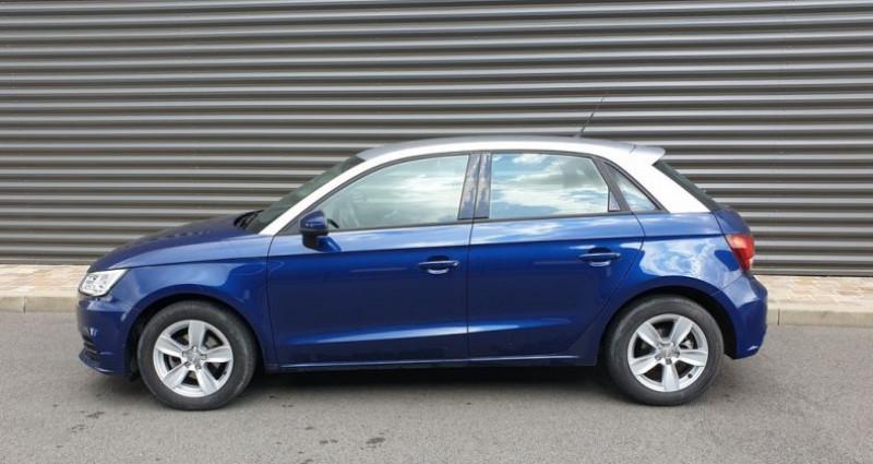 Audi A1 Sportback business tdi 90 s tronic ii Bleu occasion à FONTENAY SUR EURE - photo n°4