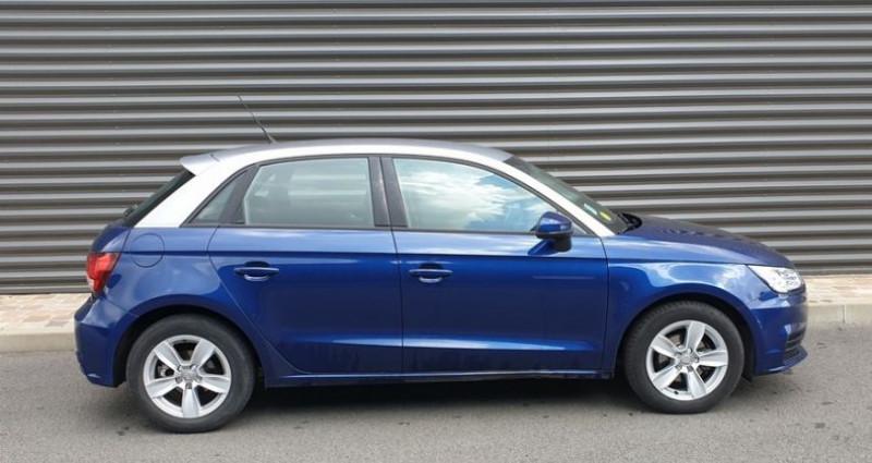 Audi A1 Sportback business tdi 90 s tronic ii Bleu occasion à FONTENAY SUR EURE - photo n°3