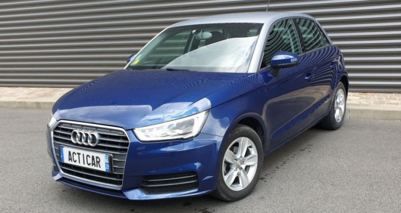 Audi A1 Sportback business tdi 90 s tronic ii Bleu occasion à FONTENAY SUR EURE
