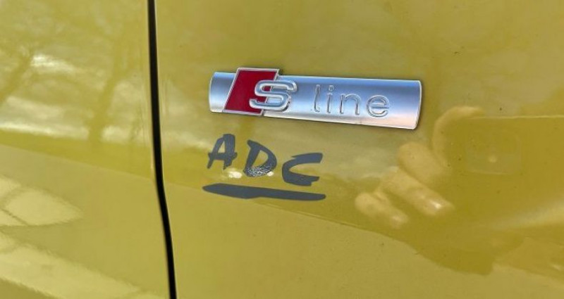Audi A1 Sportback NOUVELLE 30 TFSI 116 CH BVM5 DESIGN Jaune occasion à ST BONNET LE FROID - photo n°5