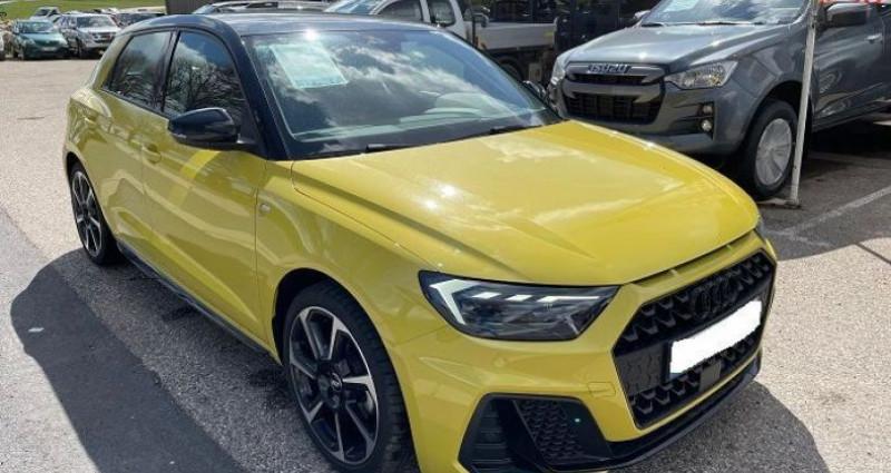 Audi A1 Sportback NOUVELLE 30 TFSI 116 CH BVM5 DESIGN Jaune occasion à ST BONNET LE FROID