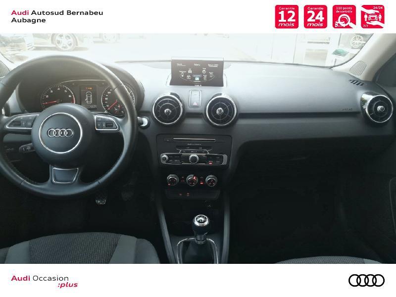 Audi A1 1.0 TFSI 82ch Midnight Series Blanc occasion à Aubagne - photo n°6