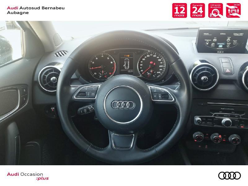 Audi A1 1.0 TFSI 82ch Midnight Series Blanc occasion à Aubagne - photo n°7