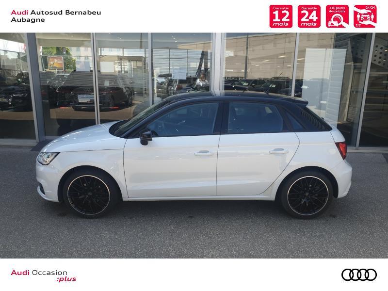 Audi A1 1.0 TFSI 82ch Midnight Series Blanc occasion à Aubagne - photo n°2