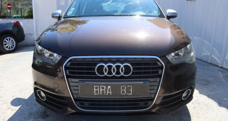 Audi A1 1.4 TFSI 122CH AMBITION LUXE S TRONIC 7 Marron occasion à Le Muy - photo n°2