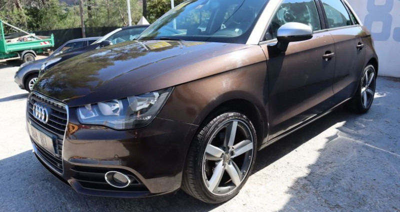 Audi A1 1.4 TFSI 122CH AMBITION LUXE S TRONIC 7 Marron occasion à Le Muy - photo n°3