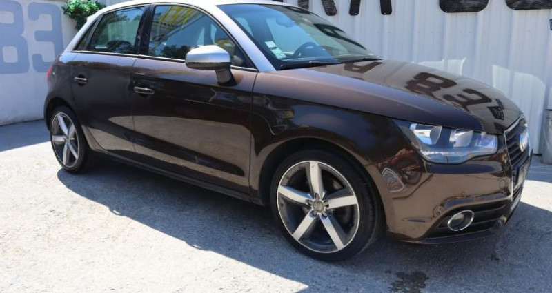 Audi A1 1.4 TFSI 122CH AMBITION LUXE S TRONIC 7 Marron occasion à Le Muy