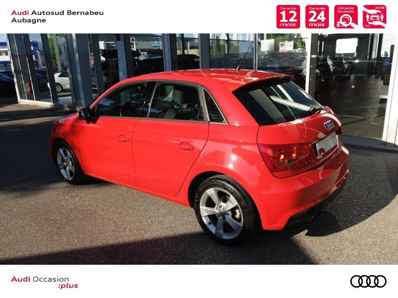 Audi A1 1.4 TFSI 125ch Ambition Rouge occasion à Aubagne - photo n°3