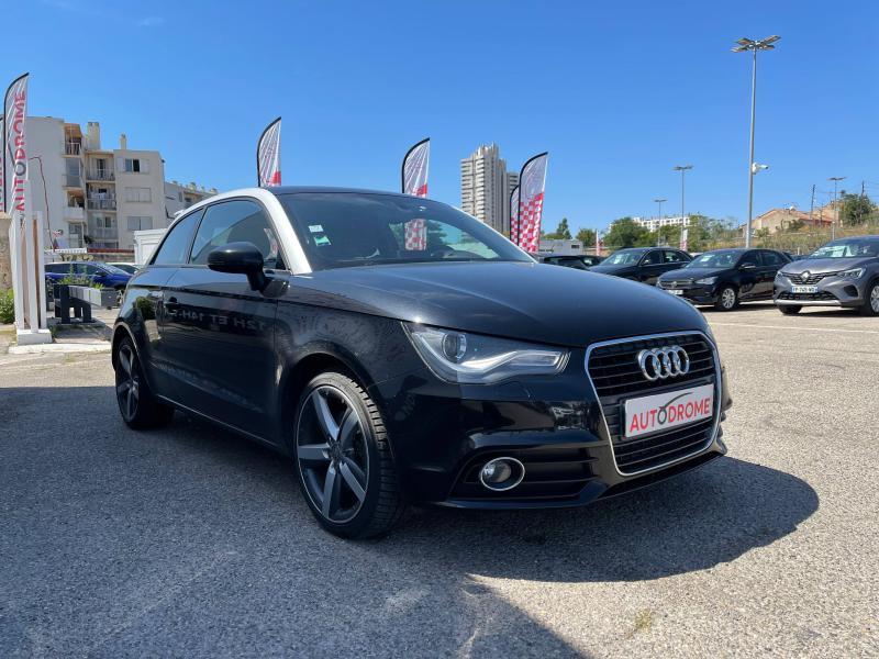 Audi A1 1.6 TDI 105ch FAP Ambition Luxe - 151 000 Kms Noir occasion à Marseille 10 - photo n°3