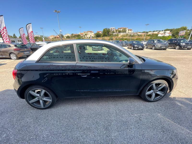 Audi A1 1.6 TDI 105ch FAP Ambition Luxe - 151 000 Kms Noir occasion à Marseille 10 - photo n°5