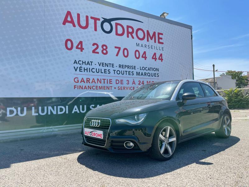 Audi A1 1.6 TDI 105ch FAP Ambition Luxe - 151 000 Kms Noir occasion à Marseille 10