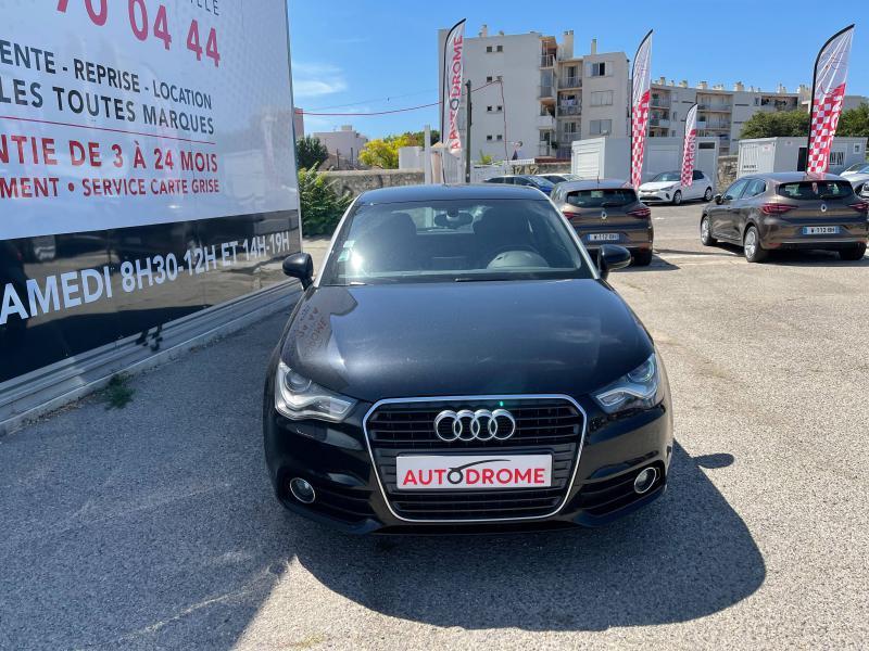 Audi A1 1.6 TDI 105ch FAP Ambition Luxe - 151 000 Kms Noir occasion à Marseille 10 - photo n°2