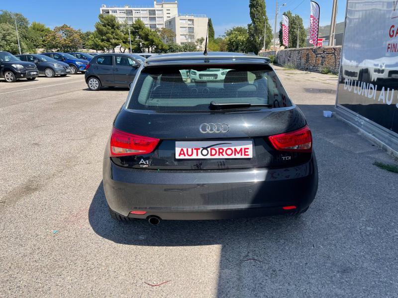 Audi A1 1.6 TDI 105ch FAP Ambition Luxe - 151 000 Kms Noir occasion à Marseille 10 - photo n°7