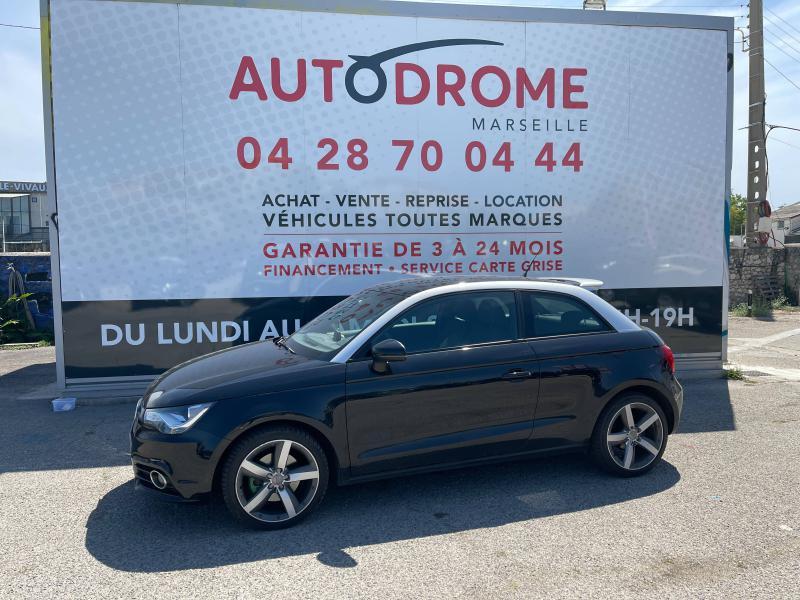 Audi A1 1.6 TDI 105ch FAP Ambition Luxe - 151 000 Kms Noir occasion à Marseille 10 - photo n°4