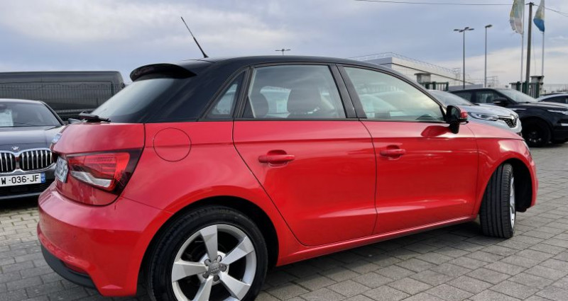 Audi A1 1.6 TDI 116ch S line S tronic 7 Rouge occasion à SELESTAT - photo n°3