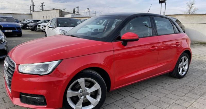 Audi A1 1.6 TDI 116ch S line S tronic 7 Rouge occasion à SELESTAT - photo n°2