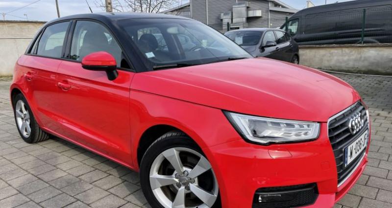 Audi A1 1.6 TDI 116ch S line S tronic 7 Rouge occasion à SELESTAT