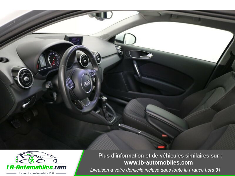 Audi A1 1.6 TDI 90 Bleu occasion à Beaupuy - photo n°6