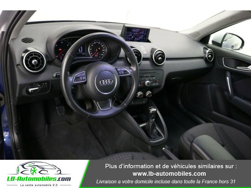 Audi A1 1.6 TDI 90 Bleu occasion à Beaupuy - photo n°2
