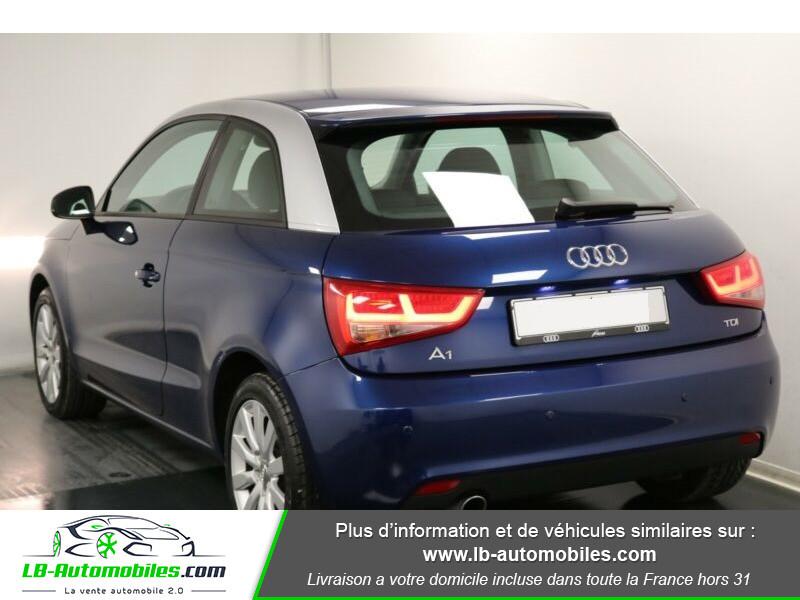 Audi A1 1.6 TDI 90 Bleu occasion à Beaupuy - photo n°3