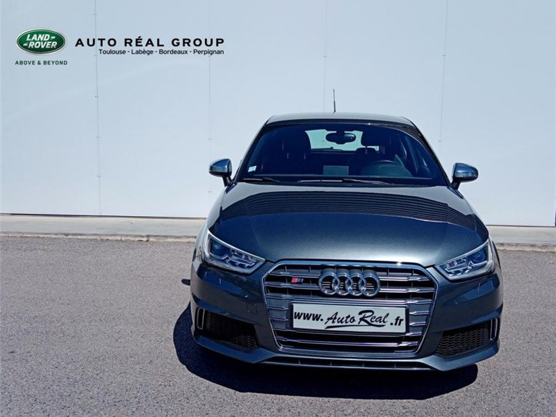 Audi A1 2.0 TFSI 231 QUATTRO Gris occasion à PERPIGNAN - photo n°3