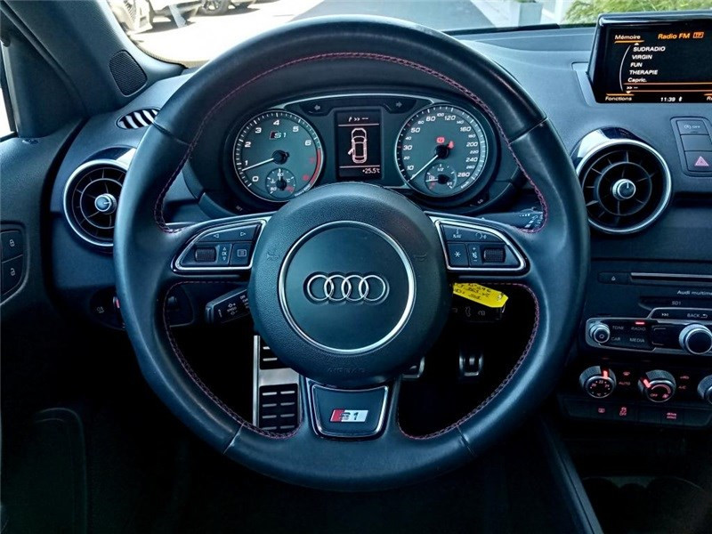 Audi A1 2.0 TFSI 231 QUATTRO Gris occasion à PERPIGNAN - photo n°15