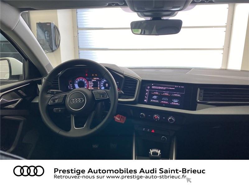 Audi A1 25 TFSI 95 CH BVM5 Blanc occasion à Saint-Brieuc - photo n°4