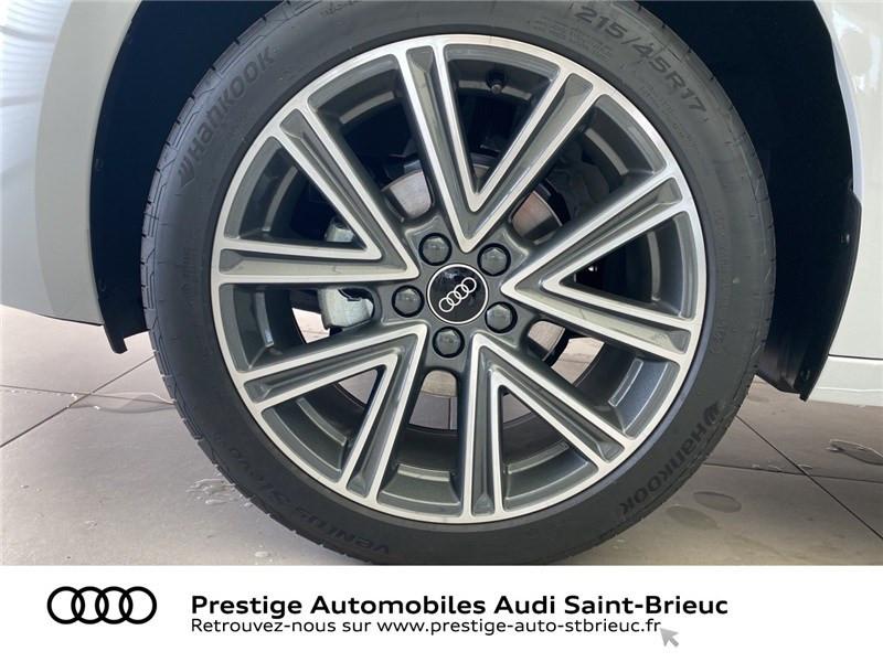 Audi A1 25 TFSI 95 CH BVM5 Blanc occasion à Saint-Brieuc - photo n°7
