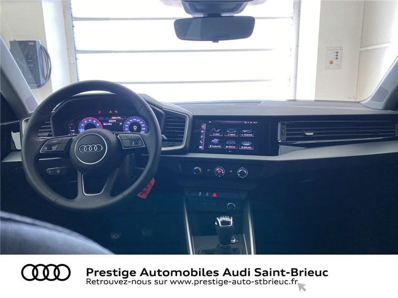 Audi A1 25 TFSI 95 CH BVM5 Noir occasion à Saint-Brieuc - photo n°4