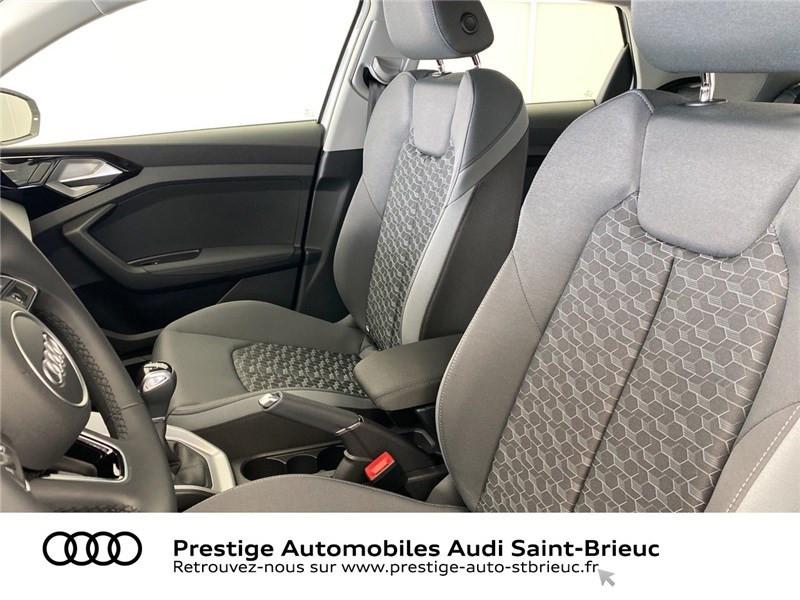 Audi A1 25 TFSI 95 CH BVM5 Blanc occasion à Saint-Brieuc - photo n°5