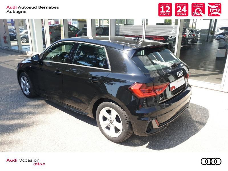 Audi A1 25 TFSI 95ch S line S tronic 7 Noir occasion à Aubagne - photo n°3