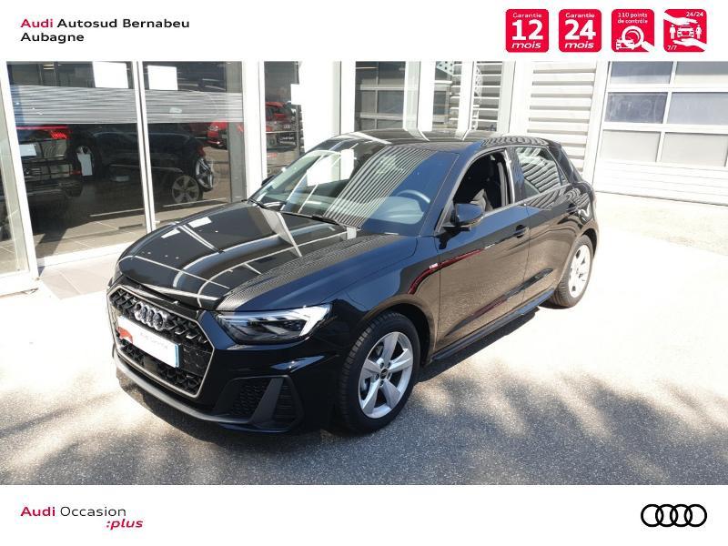 Audi A1 25 TFSI 95ch S line S tronic 7 Noir occasion à Aubagne