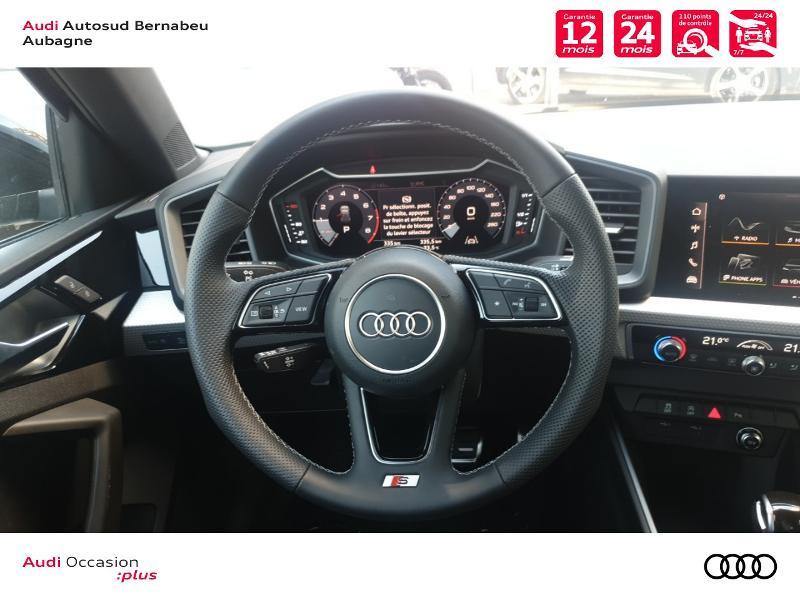 Audi A1 25 TFSI 95ch S line S tronic 7 Noir occasion à Aubagne - photo n°7
