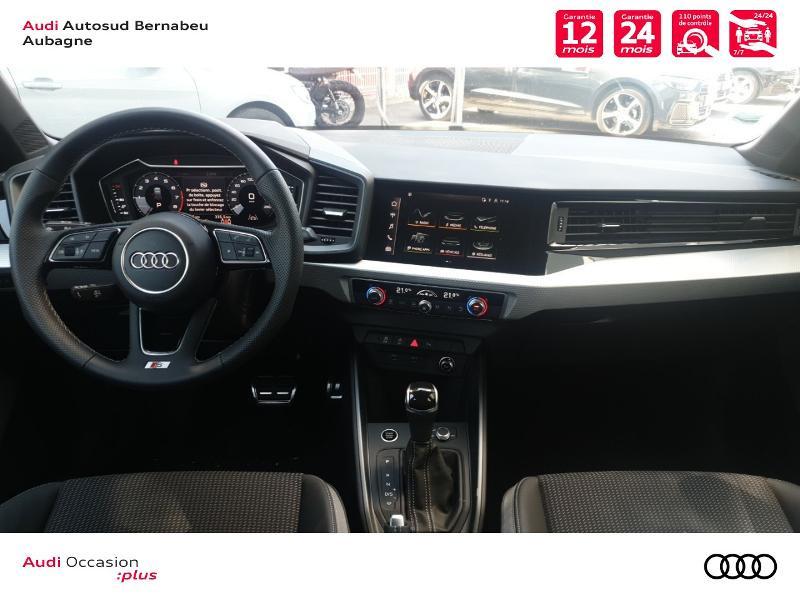 Audi A1 25 TFSI 95ch S line S tronic 7 Noir occasion à Aubagne - photo n°6