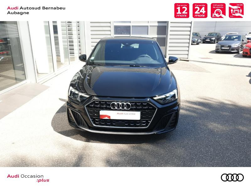 Audi A1 25 TFSI 95ch S line S tronic 7 Noir occasion à Aubagne - photo n°5
