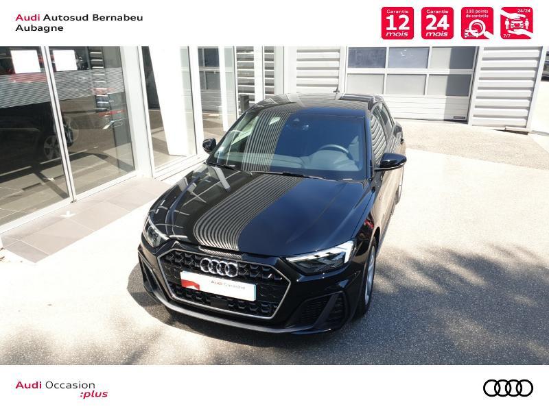Audi A1 25 TFSI 95ch S line S tronic 7 Noir occasion à Aubagne - photo n°4
