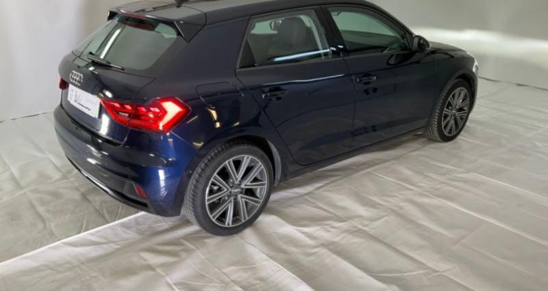 Audi A1 30 tfsi design luxe 116cv ii Bleu occasion à Neuilly Sur Seine - photo n°3