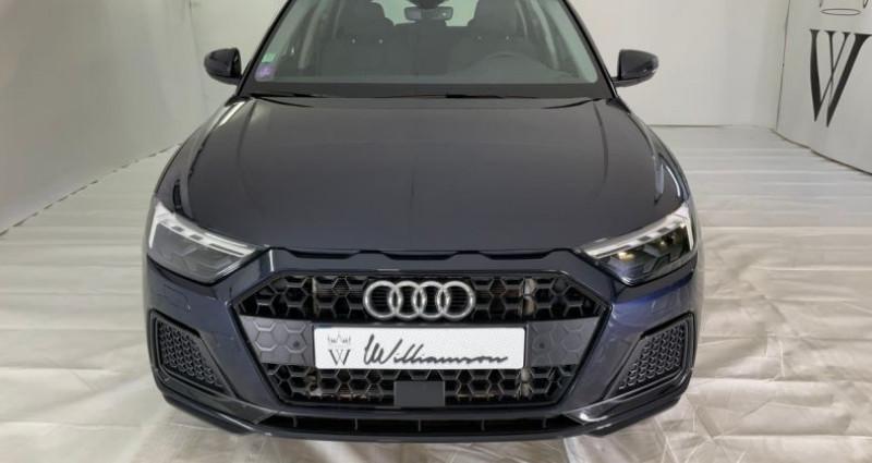Audi A1 30 tfsi design luxe 116cv ii Bleu occasion à Neuilly Sur Seine - photo n°2