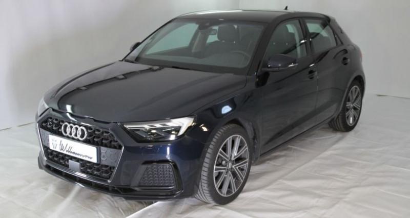 Audi A1 30 tfsi design luxe 116cv ii Bleu occasion à Neuilly Sur Seine