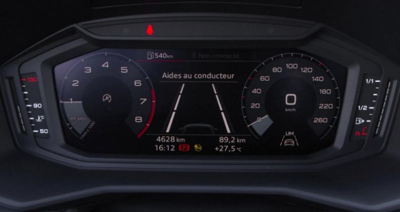 Audi A1 II 1.0 TFSI 95 Gris occasion à Chambourcy - photo n°5