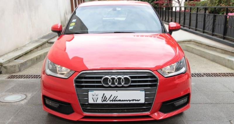 Audi A1 metropolitan 1.4 tdi 90hp ii Rouge occasion à Neuilly Sur Seine - photo n°2