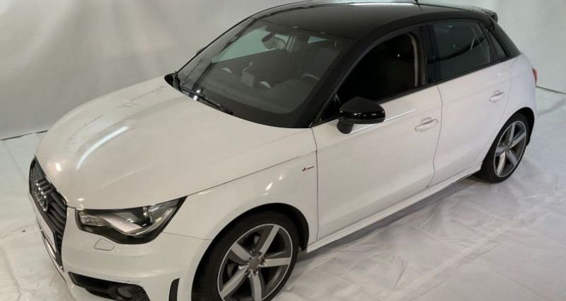 Audi A1 urban sport s line 90hpe ii Blanc occasion à Neuilly Sur Seine
