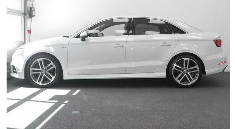 Audi A3 Berline 1.0 TFSI 115CH S LINE S TRONIC 7 Blanc occasion à Villenave-d'Ornon - photo n°2