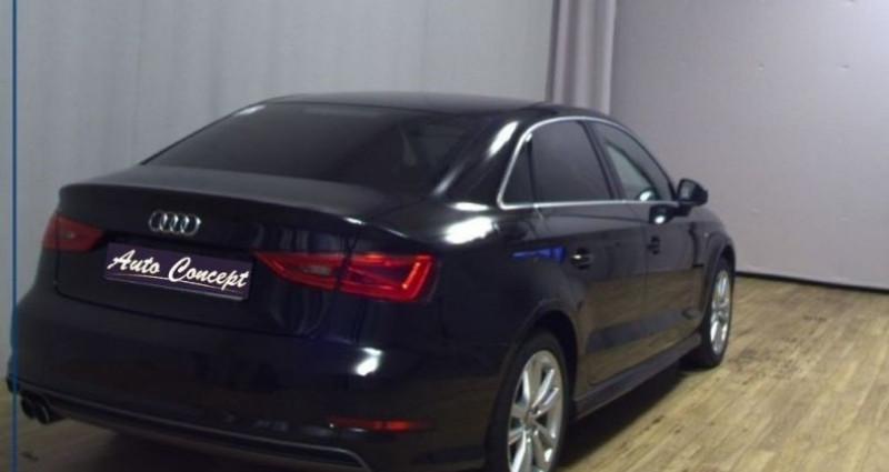 Audi A3 Berline 1.4 TFSI 150ch ultra COD S line Noir occasion à LANESTER - photo n°4